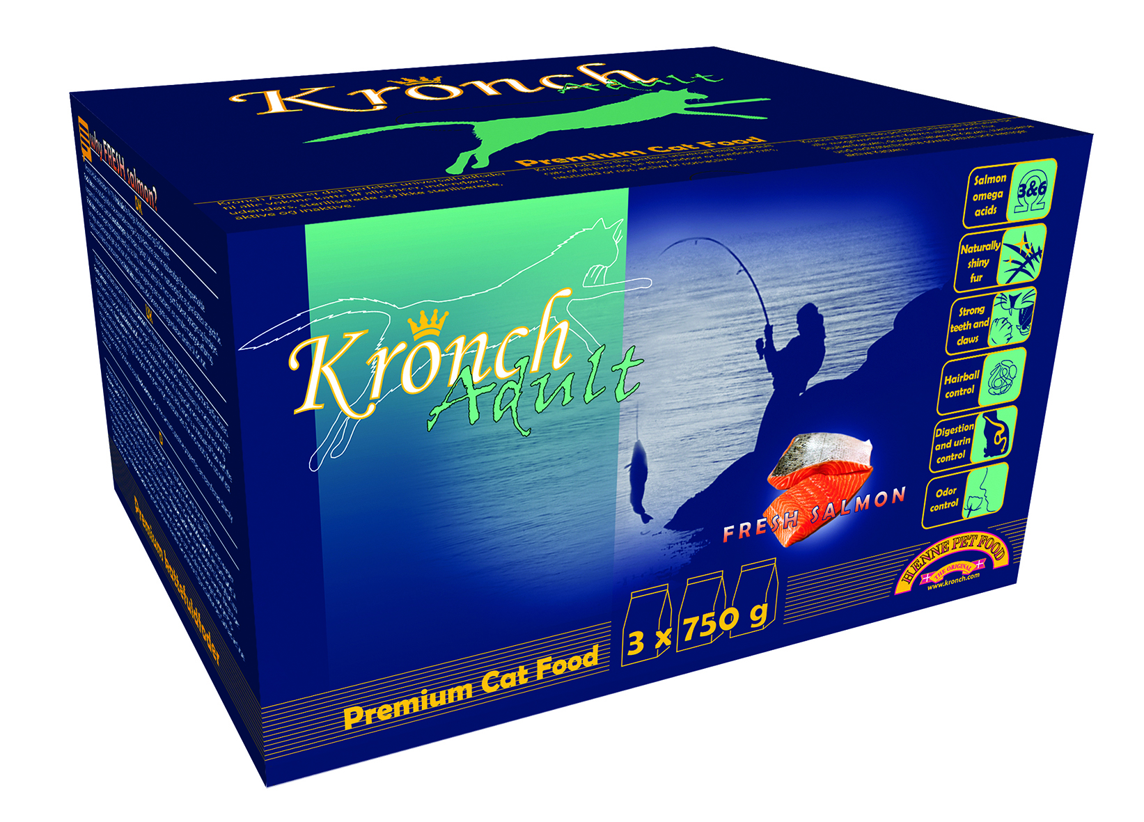 Kronch Cat Adult 2,25 kg